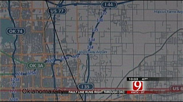 Nemaha Fault Splits Central Oklahoma