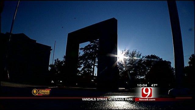 Shawnee Veterans Memorial Vandalized