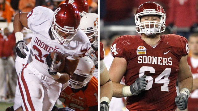 Two Sooners Named CoSIDA Academic All-District