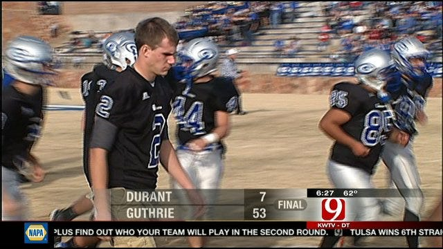 Guthrie Finishes Wild Week With Blowout Win