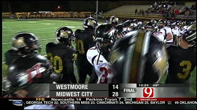 Midwest City Outlasts Westmoore To Advance