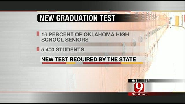 Thousands Of Oklahoma High School Seniors Yet To Pass Required Exam