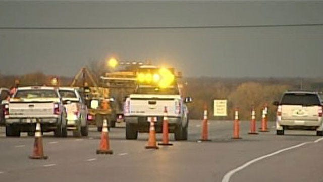I-40 Near Shawnee Reopens After Flaw Repaired