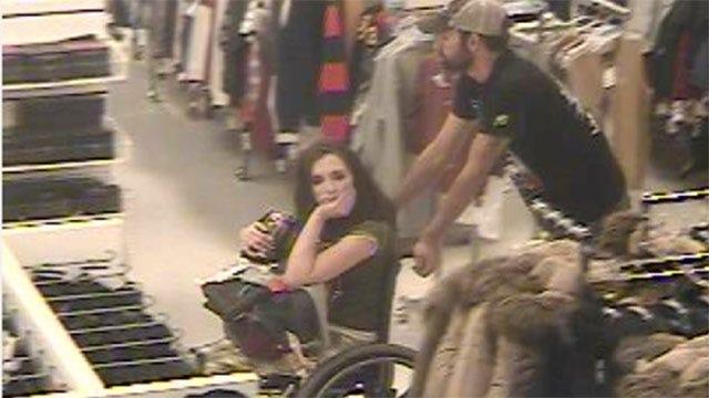 Edmond Police Seek Woman In Wheelchair, Man Who Used Stolen Checks