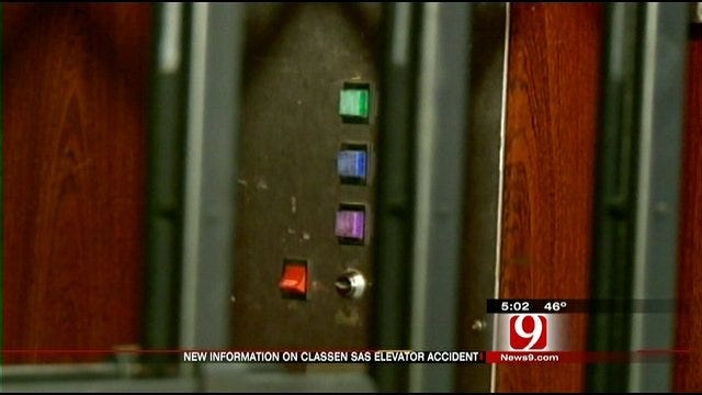 OKC School Officials Investigate Elevator Accident