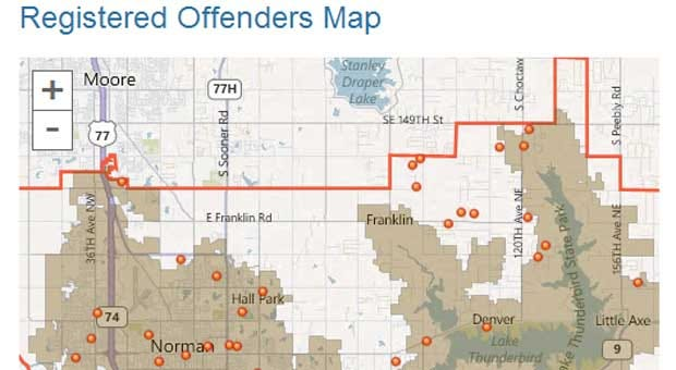 Police List All Registered Sex And Violent Offenders In Norman Online