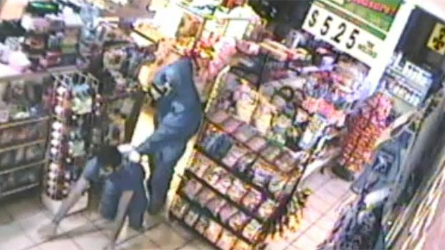 Robber In 'Scream' Mask Terrorizes OKC Convenience Store Clerk