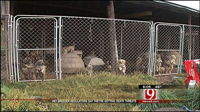 Death Threats Made Against Puppy Mill Inspectors In LeFlore County