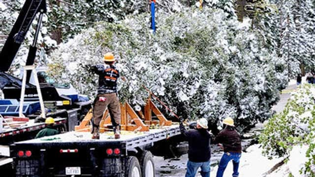 National Christmas Tree To Make Stop In Midwest City Saturday