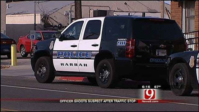 Traffic Stop Leads To Officer-Involved Shooting In Harrah