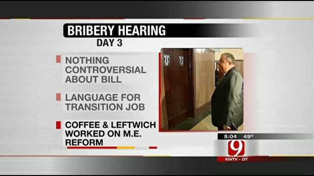 Terrill, Leftwich Bribery Hearing Continues
