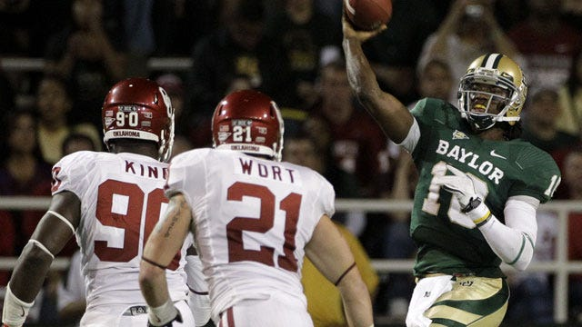 Robert Griffin Leads Baylor To Upset Of Oklahoma