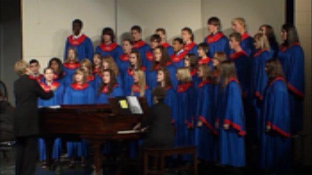 Chandler High School Choir, Band Perform On Veteran's Day