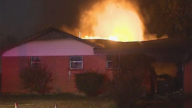 Fire Destroys Del City Home Of Legendary Sports Writer