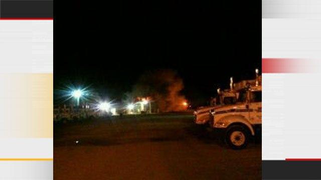 Chemical Explosion Rocks Clinton Plant