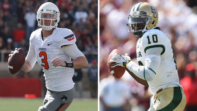 Heisman Race: Comparing Griffin And Weeden