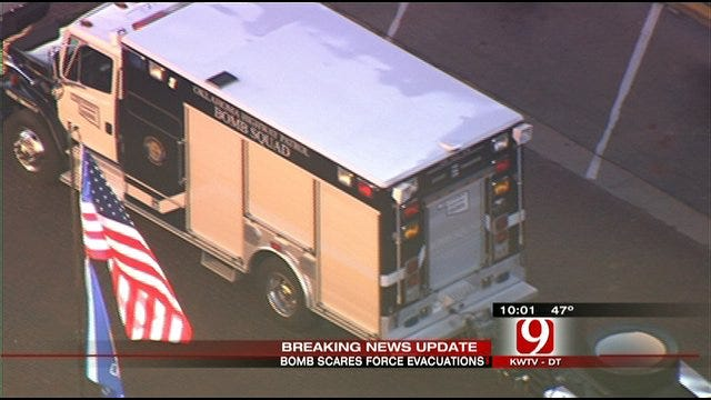 Bomb Scares Cause Thousands To Evacuate