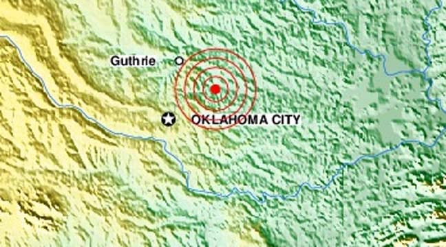 Another Earthquake Recorded In Central Oklahoma Sunday Morning