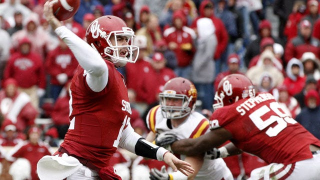 Big Second Quarter Gives OU Win Over Iowa State