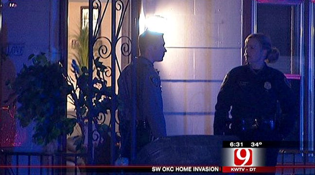 OKC Police Look For Suspect In Home Invasion, Shooting