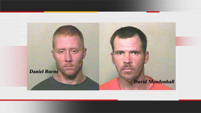 High Speed Chase In Harrah Ends In Arrests Of Burglary Suspects