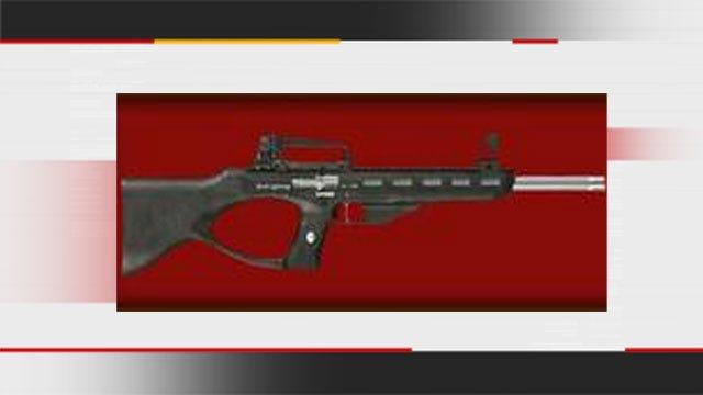 Officials Release Photo Of Gun Stolen In Wagoner County Shooting