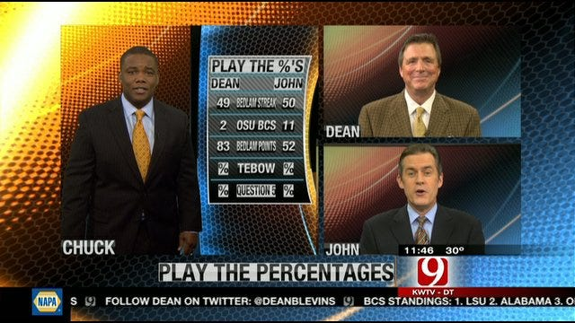 Play the Percentages: Nov. 27, 2011