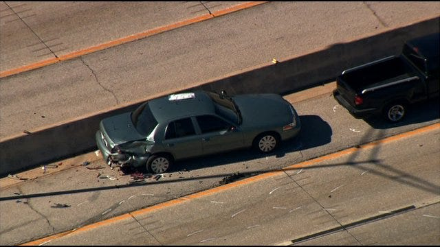 All Lanes Of Northbound I-44 Open After Officer-Involved Accident