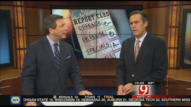 Oklahoma Report Card Against Texas A&M