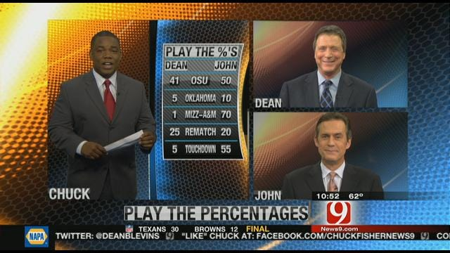 Play the Percentages: Nov. 6, 2011