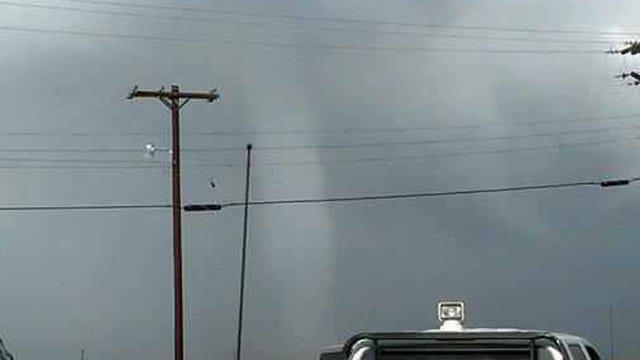 Tornado Outbreak Spotted In Southwestern Oklahoma