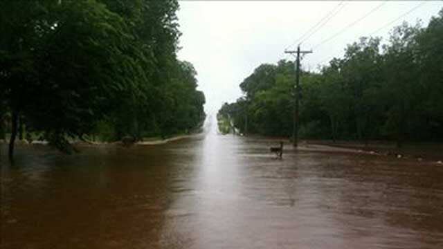 Flooding Closes Several Streets In Edmond Area
