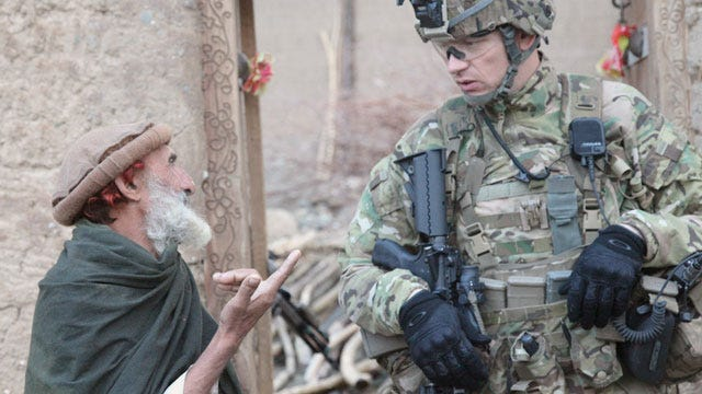 Oklahoma Soldiers Capture Insurgent Leader In Afghanistan