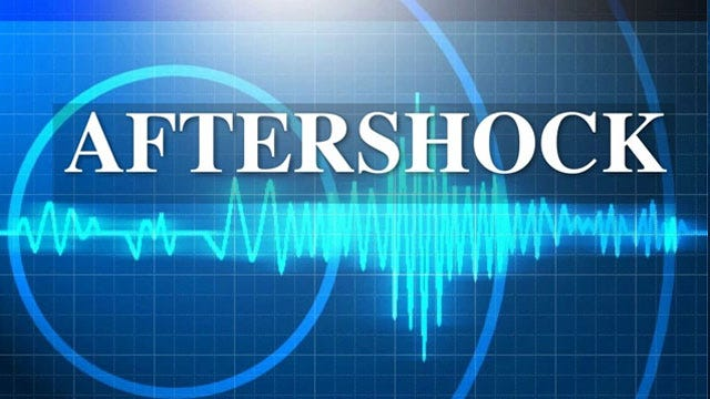 Aftershock Shakes Central Oklahoma Wednesday