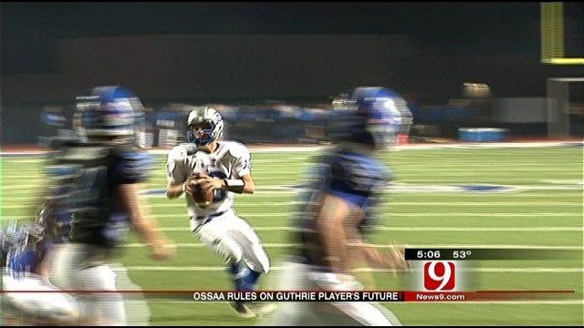 OSSAA Reinstates Guthrie To Playoffs, Bars Coach, Player