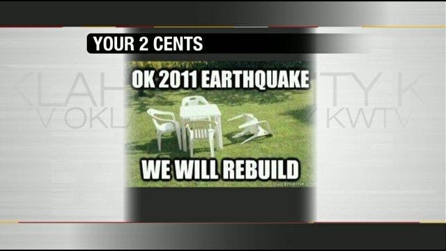 Your 2 Cents: Viewers Look At Oklahoma Unique Disasters With Humor