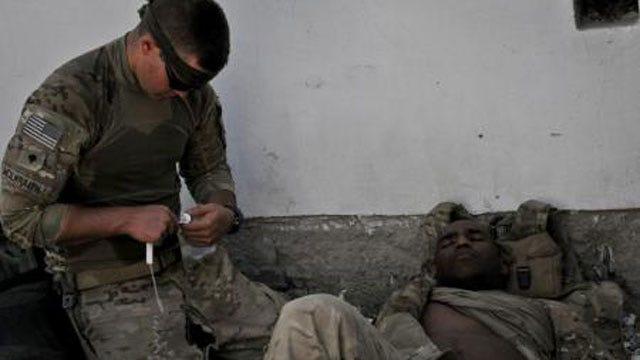 Photos Show Oklahoma's 45th Infantry Brigade At Work
