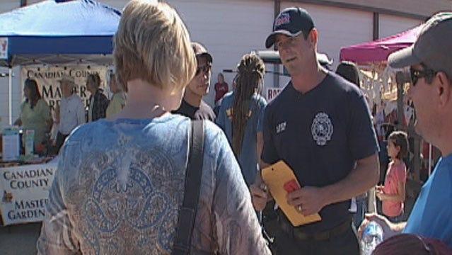 Richland Volunteer Firefighters Raise Money At Yukon Czech Festival