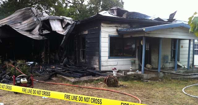 House Fire Kills Woman In Pontotoc County