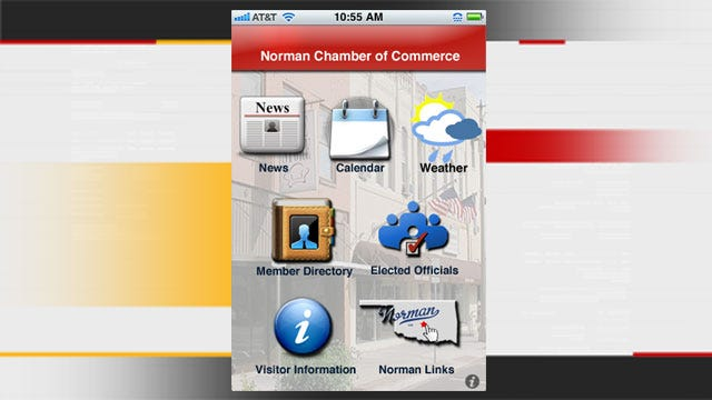 Norman Chamber Releases Free IPhone App
