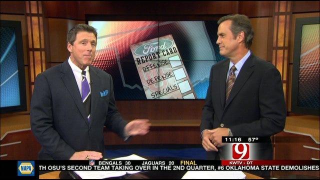 Oklahoma Report Card Against Texas