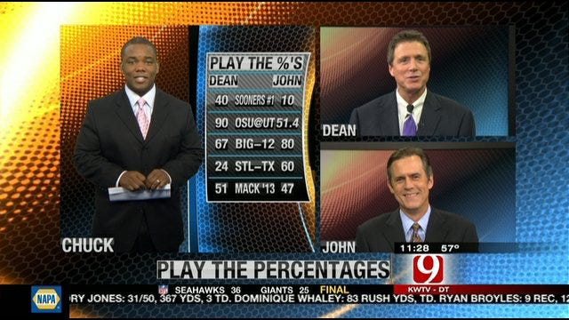 Play the Percentages: Oct. 9, 2011