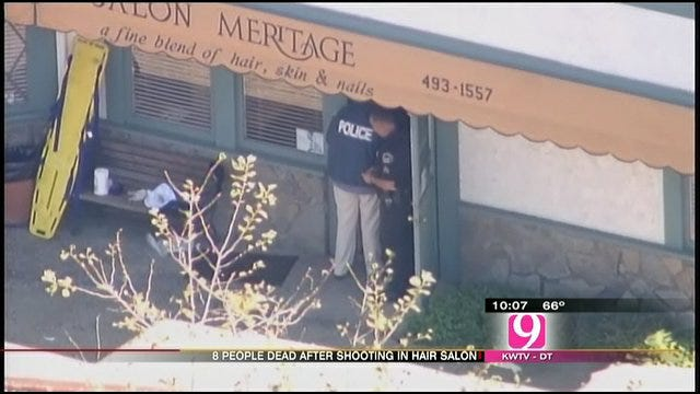 California Salon Shooting Leaves 8 Dead, 1 Injured