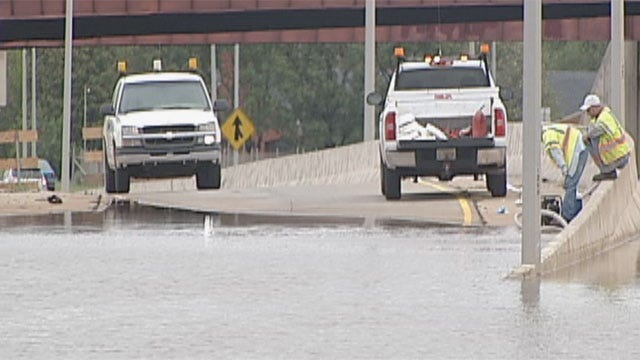 I-44 Ramps Reopen, ODOT To Permanently Fix Drainage Problem