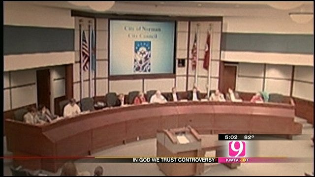 Norman Council Unanimously Adopts 'In God We Trust'