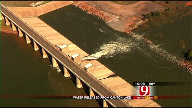 Oklahoma City Lake Levels May Rise This Weekend