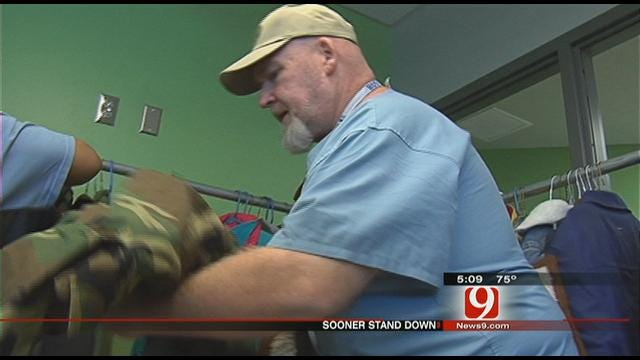 Sooner Stand Down Serves Up Food, Support to Homeless Vets