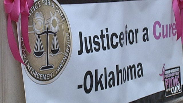 OKC Police Join Nationwide 'Justice For A Cure'