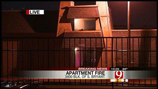 Firefighters Respond To Report Of Fire At Del City Apartment