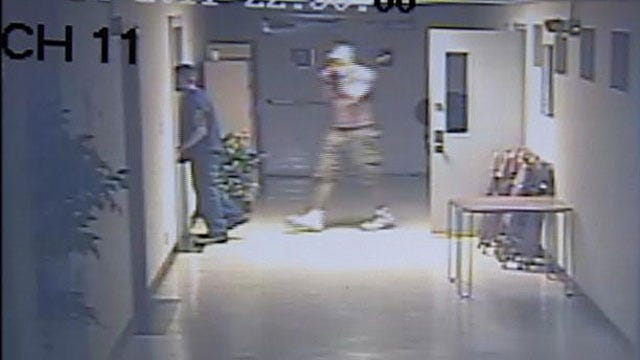 Two Men Caught On Cameras Stealing From OKC Child Care Center